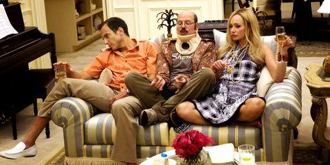 Leg, Room, Living room, Sitting, Furniture, Interior design, Couch, Dress, Coffee table, Interior design,