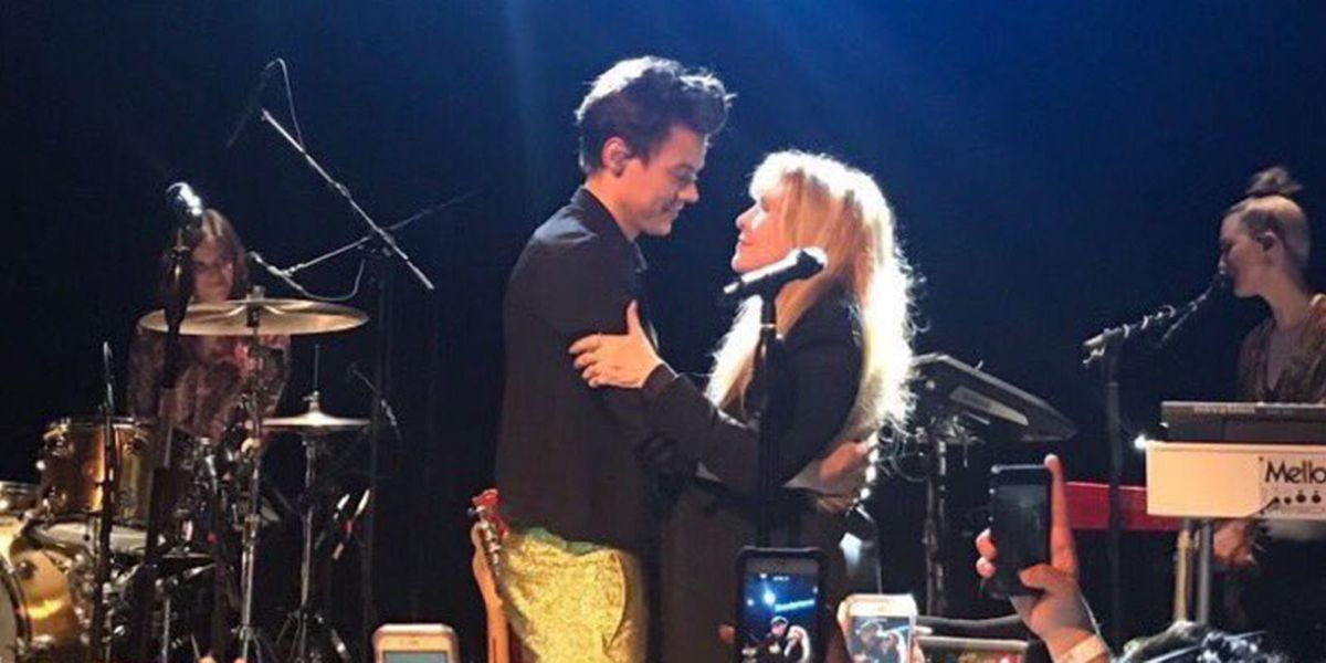 Harry Styles Crying During His Duet of 'Landslide' with Stevie Nicks Is Everything
