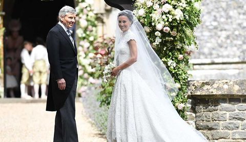 Wedding dress, Bride, Gown, Veil, Photograph, Dress, Bridal clothing, Clothing, Marriage, Ceremony,