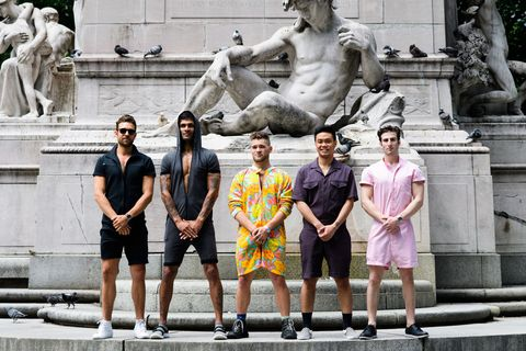 6f676aee6cb8 What a Male Romper Looks Like on Real Guys - Five Real Men Wear a ...