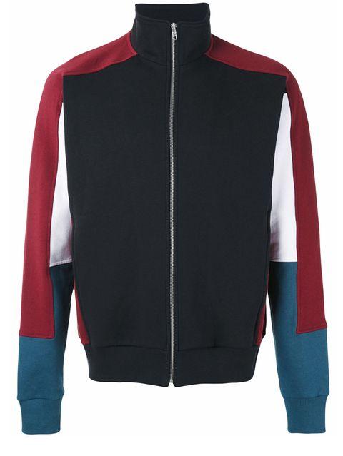Clothing, Outerwear, Sleeve, Jacket, Polar fleece, Jersey, Sweater, Zipper, Collar, Top,