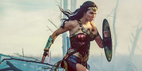 Cg artwork, Fictional character, Wonder Woman, Illustration, Fiction, Mythology, Games, Black hair, Massively multiplayer online role-playing game,