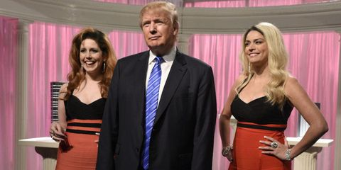 Donald trump rejected saturday night live sketch the snl staff getty this season m4hsunfo