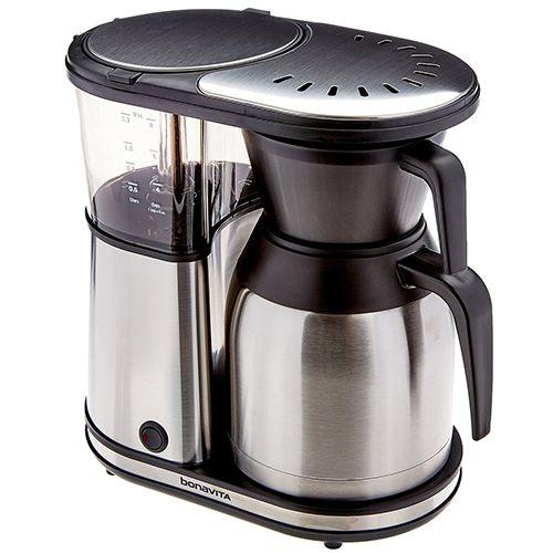 Best Coffee Makers 2017:  Bonavita BV1900TS 8-Cup Stainless Steel Coffee Brewer