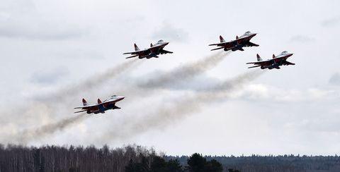 Aircraft, Airplane, Aviation, Air force, Air show, Vehicle, Aerobatics, Flight, Military aircraft, Fighter aircraft,