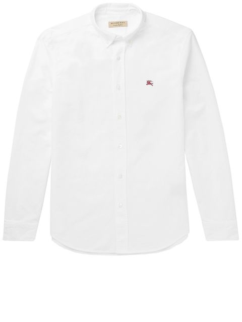 "<p><strong data-redactor-tag=""strong"" data-verified=""redactor"">Slim-Fit Button-Down Collar Cotton Oxford</strong></p><p><span class=""redactor-invisible-space"" data-verified=""redactor"" data-redactor-tag=""span"" data-redactor-class=""redactor-invisible-space"">Burberry's crisp cotton holds its shape well; opt for something like this if you're wearing it out to a nice dinner. </span></p><p><em data-redactor-tag=""em"" data-verified=""redactor"">$225, </em><a href=""https://www.mrporter.com/en-us/mens/burberry/slim-fit-button-down-collar-cotton-oxford-shirt/882830"" target=""_blank"" data-tracking-id=""recirc-text-link""><em data-redactor-tag=""em"" data-verified=""redactor"">mrporter.com</em></a></p>"