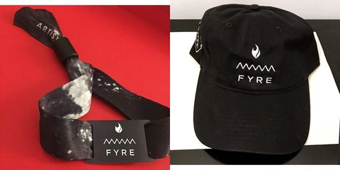 1974fd70 A Fyre Festival Hat is Now Selling on eBay for $50