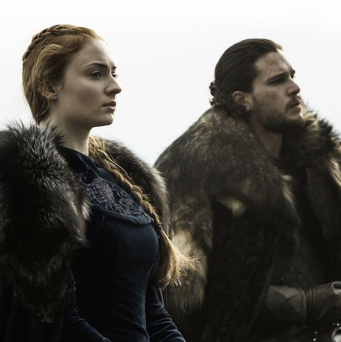 Sansa and Jon Snow are reunited.