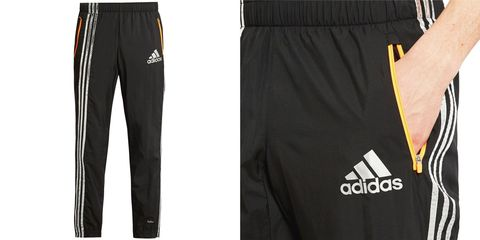 Yellow, Sleeve, Textile, White, Style, Black, Pocket, Denim, Waist, Active shorts,