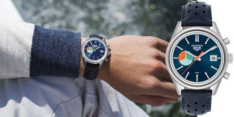 Blue, Product, Watch, Wrist, Analog watch, Photograph, White, Watch accessory, Fashion accessory, Font,
