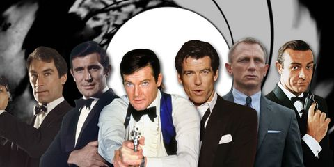 A Ranking of Every James Bond by Acting Ability