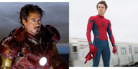 Young Spider-Man in Iron Man 2 - Tom Holland Confirms Peter
