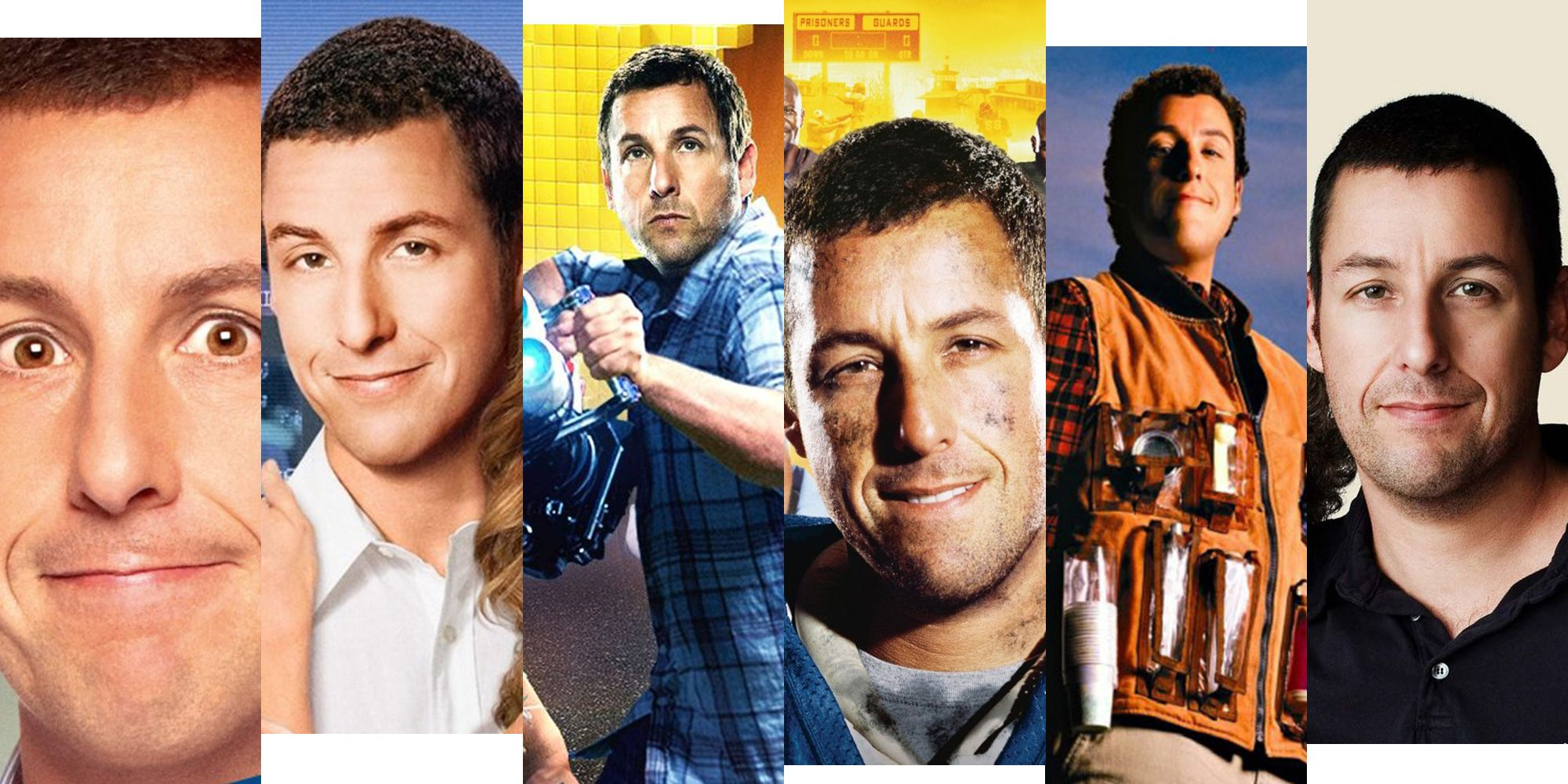 Sandler and young show me a man