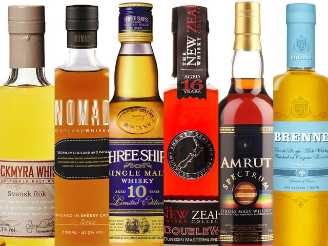 10 Best Whiskies From Around The World Best International Whisky
