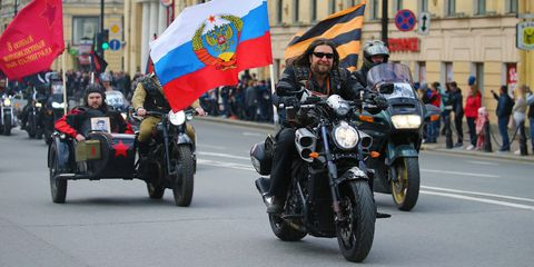 The Russian Biker Gang Part of the Trump Russia Story Is Here