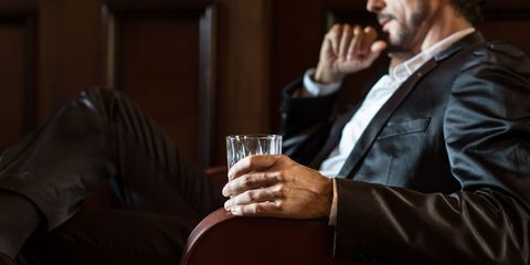 Alcohol, Liqueur, Drink, Distilled beverage, Drinking, Photography, Suit, Whisky, Drinkware,