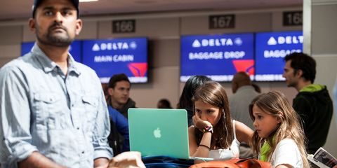 For now, you can still bring your laptop on an airplane