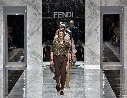 Fashion, Fashion model, Street fashion, Runway, Haute couture, Human, Winter, Fashion show, Outerwear, Textile,