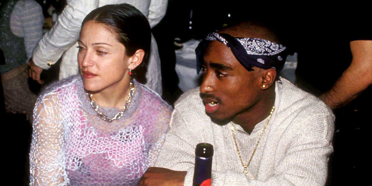 Madonna dating 2pac