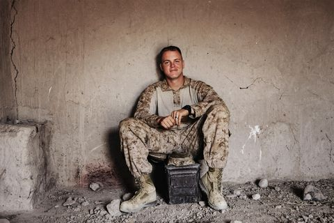 Marines nude Military Man