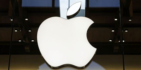 Apple, Fruit, Produce, Design, Display device, Malus, Symbol, Graphics, Clip art, Granny smith,