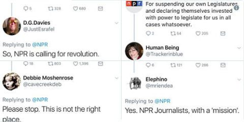 Trump supporters attack npr on twitter after declaration of trump supporters attack npr on twitter after declaration of independence tweetstorm publicscrutiny Gallery