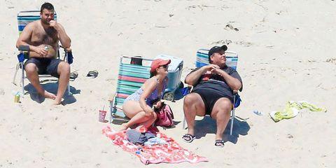 People on beach, Sun tanning, Barechested, Vacation, Fun, Summer, Beach, Muscle, Spring break, Bikini,