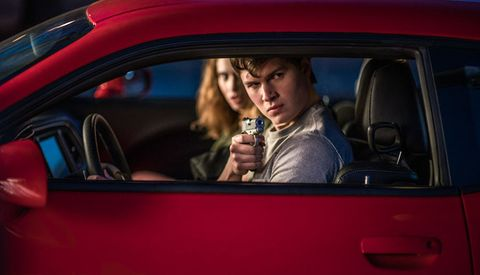 Baby Driver And Guns Baby Drivers Fetishistic Approach To Gun
