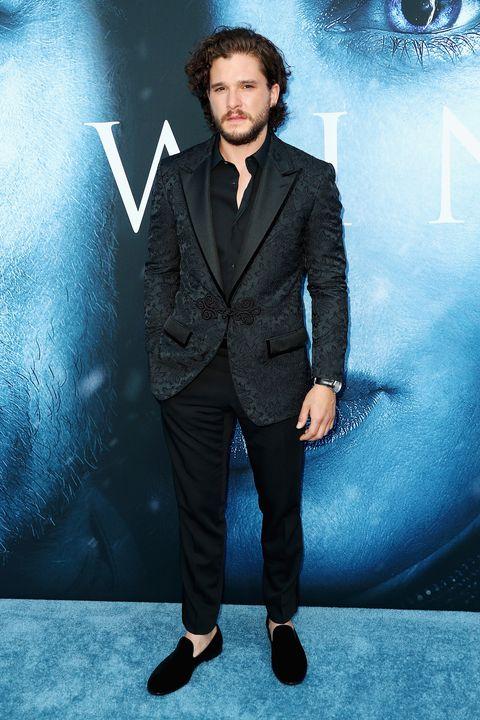 Collar, Trousers, Coat, Dress shirt, Outerwear, Formal wear, Facial hair, Style, Suit, Blazer,
