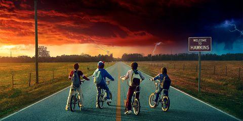 Stranger Things season two poster