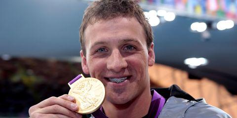 Gold medal, Medal, Award, Food, Junk food, Dish, Eating, Sports,