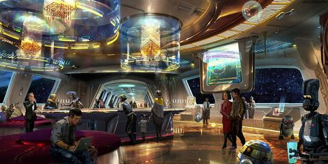 Ceiling, Interior design, Games, Space, Hall, Pc game, Video game software, Massively multiplayer online role-playing game, Cg artwork, Lobby,