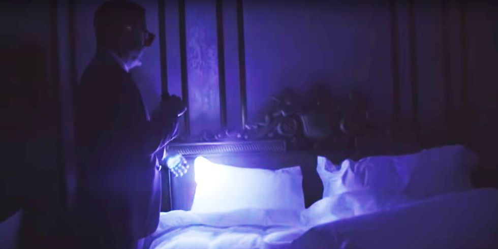 Stephen Colbert Brought a Blacklight to the Alleged 'Pee Pee Tape' Hotel  Room