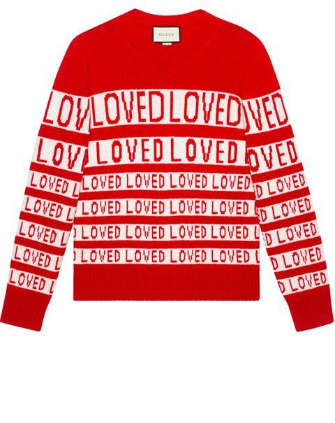 Clothing, Sleeve, Long-sleeved t-shirt, Red, T-shirt, Sweater, Outerwear, Text, Sweatshirt, Font,