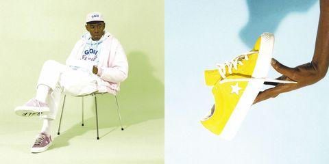Yellow, Design, Graphic design, Illustration, Furniture, Logo, Shoe, Brand,