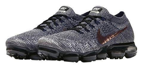 Shoe, Footwear, Running shoe, Outdoor shoe, White, Black, Hiking shoe, Cross training shoe, Sportswear, Walking shoe,