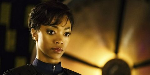 Sonequa Martin-Green as Michael Burnham in Star Trek: Discovery