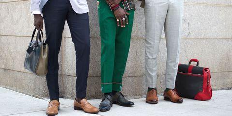 Green, Jeans, Clothing, Footwear, Tartan, Plaid, Leg, Street fashion, Shoe, Fashion,