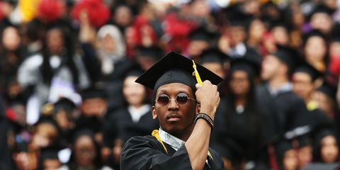 Graduation, Academic dress, Scholar, Event, Mortarboard, Public event, Phd, Crowd, Headgear, Student,