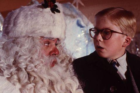 Facial hair, Beard, Nose, Santa claus, Glasses, Elder, Fictional character, Grandparent, Smile,