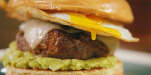 Chorizo Breakfast Burger