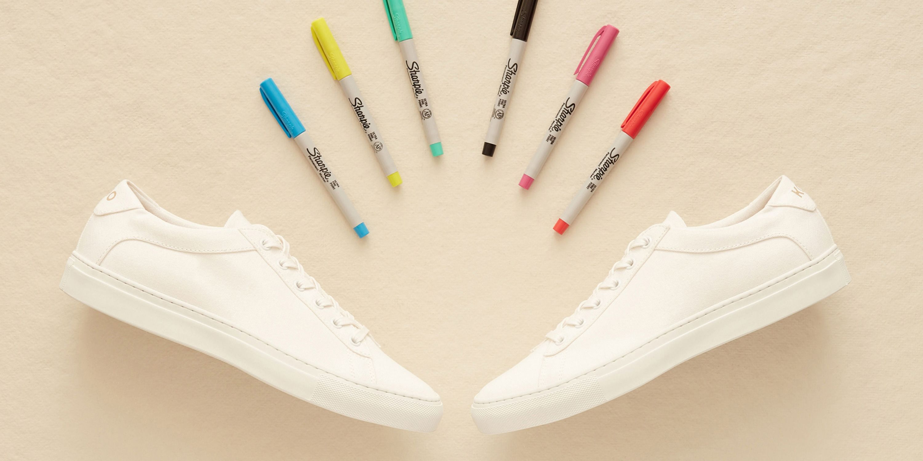 These Sneakers Were Made to Be Drawn On