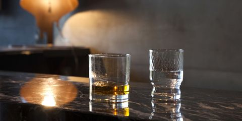 Old fashioned glass, Drink, Shot glass, Glass, Distilled beverage, Alcohol, Highball glass, Barware, Drinkware, Transparent material,
