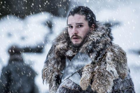 Snow, Fur, Winter storm, Winter, Blizzard, Beard, Freezing, Facial hair, Fur clothing, Human,
