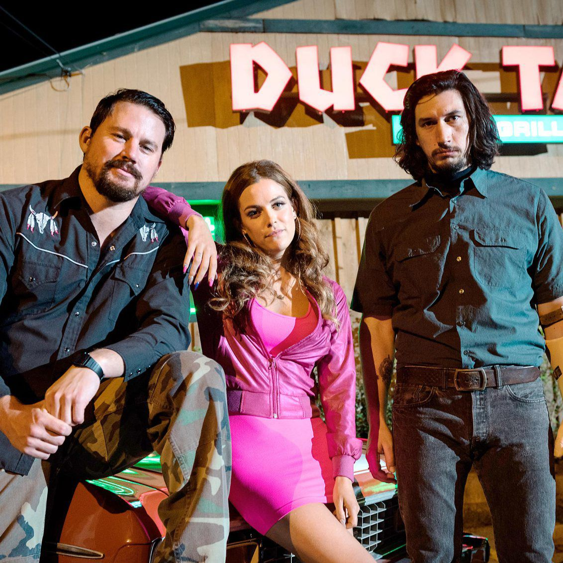 Logan Lucky Steven Soderbergh assembles an all-star cast—Channing Tatum, Adam Driver, Daniel Craig, Riley Keough, Hilary Swank, and more—for this southern-fried heist film about two brothers scheming to rob the Charlotte Motor Speedway.