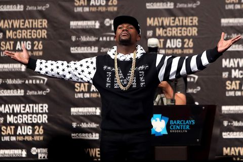All of McGregor and Mayweather's 'Money Fight' Style