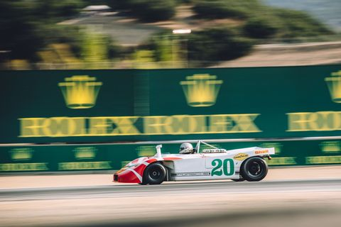 <p>Entered by Porsche Salzburg, this 908 won the 1970 1000 KMs of Nürburgring with Kurt Ahrens and Vic Elford. </p>