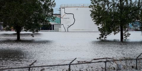 Water, Tree, Flood, Floodplain, Event, River, Architecture, Rural area, Geological phenomenon, Land lot,