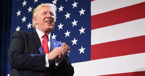 Flag of the united states, Flag, Spokesperson, Official, Speech, Flag Day (USA), Event, Public speaking, Veterans day, News,