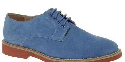 ASOS Suede Officers Shoes - New Blue